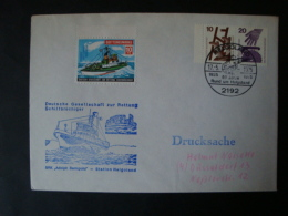 Brief DGzRS - Rettungskreuzer - Adolph Bermpohl - Verkehr & Transport