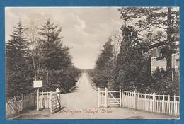 WELLINGTON COLLEGE DRIVE CROWTHORNE 1914 - Inghilterra