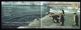 British Antartic Territory 2006 Booklet With Self Adhesive Stamps. - British Antarctic Territory  (BAT)