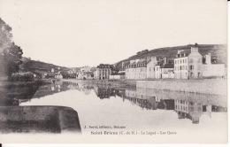 22 Saint Brieuc, Le Légué, Les Quais, 1923,  2 Scans - Saint-Brieuc