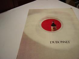 ANCIENNE PUBLICITE DUBONNET VIN TONIQUE 1964 - Alcohols