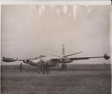 VISIT BRITAIN RAF AIRFIELD MANSTON KENT  NORTH AMERICAN B45 TORNADO  25* 21 CM  AEROPLANE  US AIR FORCE Bomber - Aviation