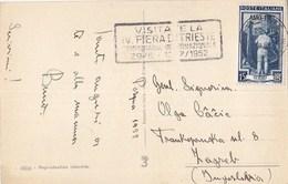 Italy Trieste AMG FTT Postcard Sent To Yugoslavia 1952 - Trieste