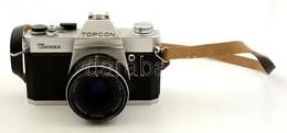 Topcon Unirex EE Kamera Tokyo Kogaku 1:2,8 F=50mm Objektívvel, Távkioldóval + Leírás / Vintage Japanese Camera - Cameras