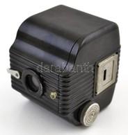 Cca 1935 Kodak Baby Brownie 127 Box Fényképez?gép, Eredeti B?r Tokjában, Jó állapotban / Vintage Box Camera With Origina - Cameras