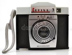 Corina 2 Fényképez?gép, 6x6 és 4.5x6 Cm Formátumú Felvételekhez, Vakuizzó Nélkül, M?anyag Tokkal - Cameras