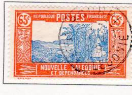 Nlle Caledonie 1928  65c Case De Chef N°YT 151 - New Caledonia