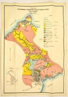 Cca 1920 Észak-Bonengkoe és A Bongkavidék átnézetes Geológiai Térképe (Kelet-Celebesz), Tervezte Dr. Lóczy Lajos, Kiadja - Other Collections