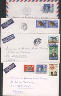 Lot De 8 Lettres Par Avion Du Sénégal ( Dakar )  Pour La France (1971) - Senegal (1960-...)