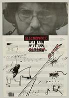 1982 Presser Gábor Electromantic Albumának Plakátja, Kis Gy?r?déssel, 70x49 Cm - Other Collections