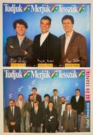 1989 Kara György (1953-): 2 Db Szabad Demokraták Szövetsége (SZDSZ) Választási Plakát, 41,5x58 Cm - Other Collections