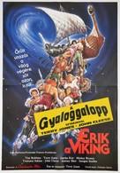1990 Erik A Viking, Film Plakát, Ofszet, Hajtásnyommal, 80x56 Cm - Other Collections
