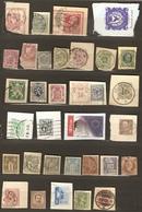 Monde - Fragments D'entiers Postaux - Petit Lot De 41 Différents - 2 Scans - Stamps