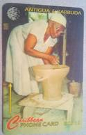 97CATB Pottery Making $10 - Antigua And Barbuda