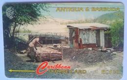 97CATC Charcoal $10 - Antigua And Barbuda