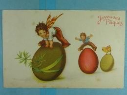 Enfants Joyeuses Pâques - Kinderen