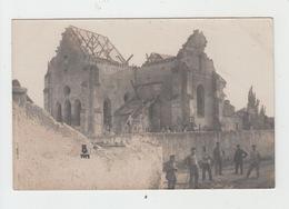 02 - AMIFONTAINE / CARTE PHOTO ALLEMANDE 1917 - France