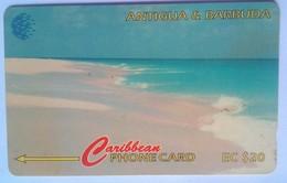17CATC Pink Sand Beach $20 - Antigua And Barbuda