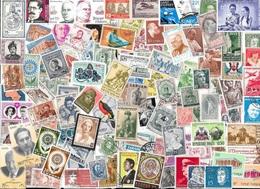 T VRAC - Monde 3500 Timbres Tous Différents - Collections (without Album)