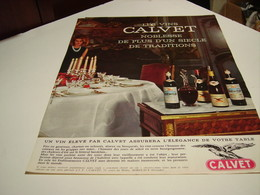 ANCIENNE PUBLICITE LES VIN MARGNAT 1964 - Alcohols