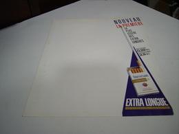 ANCIENNE PUBLICITE CIGARETTES PETER STUYVESANT EXTRA LONGUE  1987 - Tabac (objets Liés)
