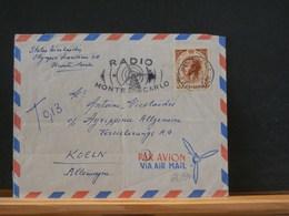 75/941   LETTRE POUR ALLEMAGNE 1958 - Monaco