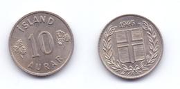 Iceland 10 Aurar 1946 - Islandia
