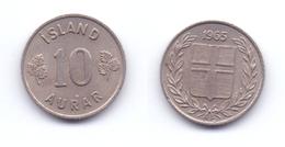 Iceland 10 Aurar 1965 - Iceland
