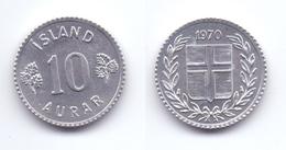 Iceland 10 Aurar 1970 - Iceland