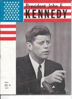 Speciale Editie Moord Op John F. Kennedy, 1964, 18 Blz Foto's En Reconstructie Leven En Moord, Nederlandstalig - Magazines & Newspapers