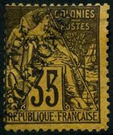 ** N°31 35c Violet Noir S/jaune - TB - New Caledonia