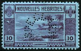 * N°100/11 La Série Perforée Spécimen - TB - New Hebrides