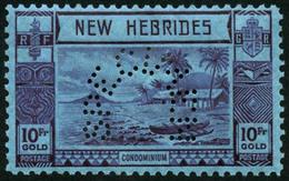 * N°112/23 La Série Perforée Spécimen - TB - New Hebrides