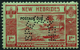 * N°16/20 La Série Perforée Spécimen - TB - New Hebrides