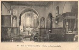 01 ARS-sur-FROMANS  Intérieur De L'ancienne Eglise - Ars-sur-Formans