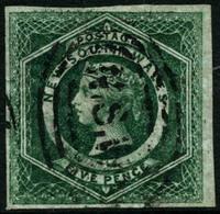 Oblit. N°22 5p Vert Foncé - TB - Used Stamps