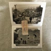 ALBUM 10 PHOTOS ( DETACHABLES ) LA ROCHE 1944 ( PONT FAUBOURG, CHAPELLE ST ANTOINE, PLACE BRONZE ... ) - War, Military