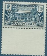 Condo Français  - Yvert N° 129 ** Bdf En Bas -  Pa14601 - Frans-Kongo (1891-1960)