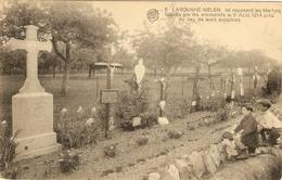LABOUXHE-MELEN  -- Ici Reposent Les Martyrs Fusillés Par Les Allemands Le 6 Août 1914 - Soumagne