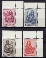 Schweiz  Mi. 738-741 Postfrisch  Freimarken Evangelisten 1961  (11266 - Suiza