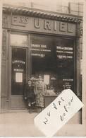 Etablissements URIEL - Commerce De Vins Et Champagnes  ( 2 Carte-photos ) - Magasins
