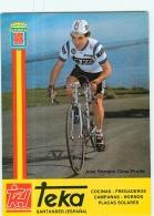 José Enrique CIMA PRADO . Cyclisme. 2 Scans. Teka 1982 (?) - Cyclisme