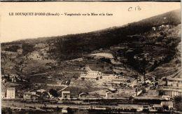 CPA Le Bousquet D'Orb Vue Generale Sur La Mine Et La Gare (687047) - Autres Communes