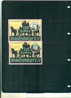 MALDIVES 200 PORTE DE BRANDEBURG DE BERLIN 2 BF NEUFS A PARTIR DE 0.75 EUROS - Maldives (1965-...)