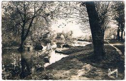 MONTFERMEIL .78. Riviere . Passerelle . Promenade  Matin De Printemps .1960 - France