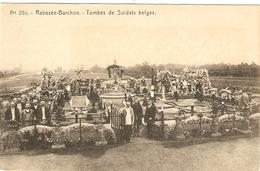 Rabosée-Barchon  ---  Tombes De Soldats Belges - Blegny