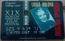 Scheda Telefonica Russia Comstar Moscow International Film Festival 95 Liuba Orlova - Russia