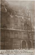 Paris - Raid De Gothas Sur Paris 30-31 Janvier 1918 - Avenue De La Grande Armée (Carte Photo) - Autres