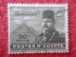 SELLO USADO USED STAMP EGIPTO POSTES D'EGYPTE 30 MILLS VER FOTO/S Y DESCRIPCIÓN. TENGO MÁS SELLOS, VER - Egypt