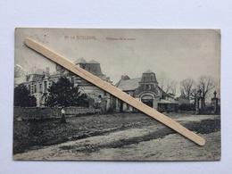 GENAPPE- BOUSVAL»CHÂTEAU DE LA MOTTE  »Panorama  ,animée,ruines (1910)M.MARCOVICI. - Genappe